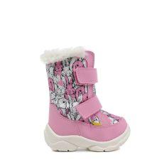 Дитячі зимові чоботи Alaska рожевий зайчик