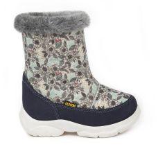 Дитячі зимові чоботи TOY, зимові квіти