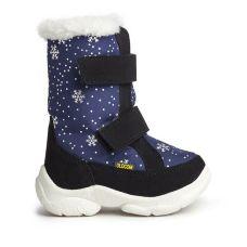 Дитячі зимові чоботи ALASKA сині зі сніжинками