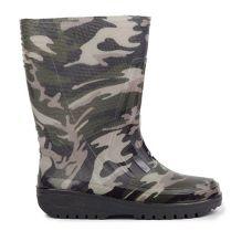 Гумові чоботи Камуфляж для підлітків