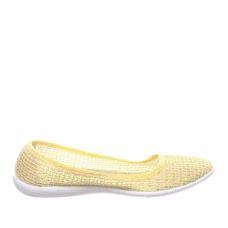 Балетки Сітка жовті