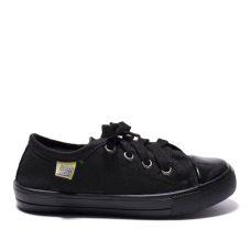 Кеди дитячі CLASSIC чорні на чорній підошві