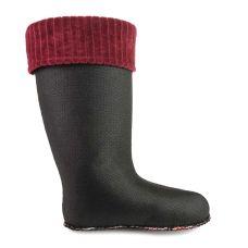 Утеплювач Clasic бордо для жіночих чобіт