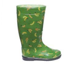 Гумові чоботи Банани на зеленому