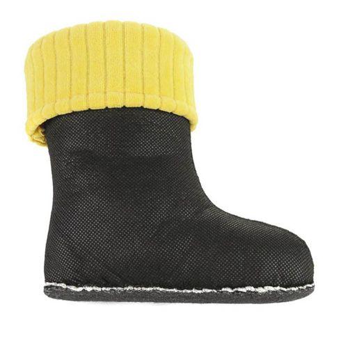 Утеплювач Clasic жовтий для дитячих чобіт